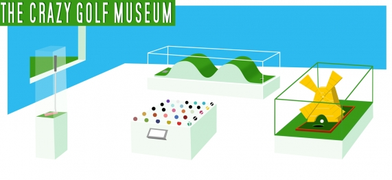 Crazy Golf Museum - the virtual collection