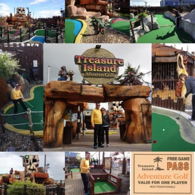 14 years of the Crazy World of Minigolf Tour