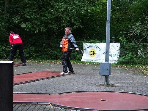 German Minigolf (Concrete) Championship In Landshut