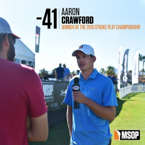Aaron Crawford Hits Jackpot at 2018 Major Series of Putting