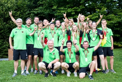 All green and gold for Germany in Bad Munder