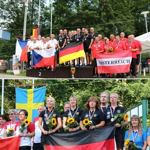European Senior Championships Held August 2 - 5
