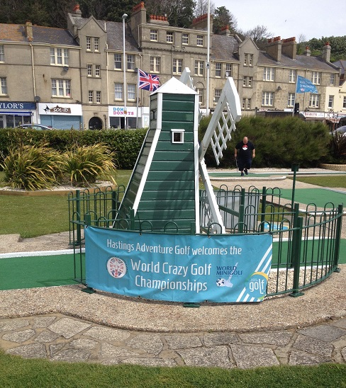 Hastings Adventure Golf plays host to the Mini Golf World Championships